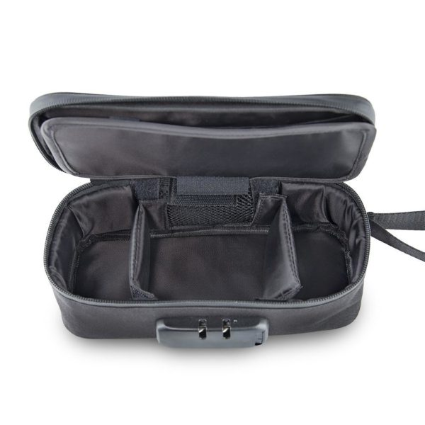 Ooze Traveller Smell Proof Travel Pouch – Black