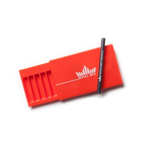 Royal Box – Black and Red Acrylic