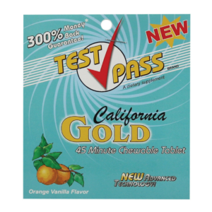 Test Pass California Gold Chewable Detox Tablets