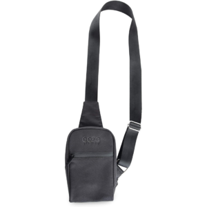 Ooze Traveller Smell Proof Crossbody Bag – Black
