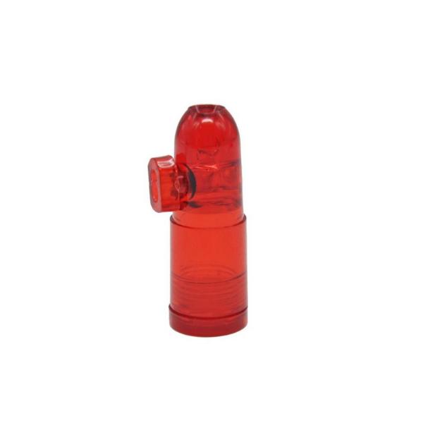 Small Acrylic Snuff Bullet