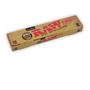 RAW Classic Pre-Rolled King Size Cone - 32 Pack