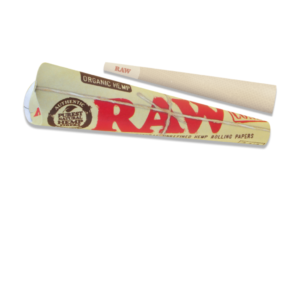 RAW Organic Hemp Pre-Rolled 1 ¼ Size Cone - 6 Pack