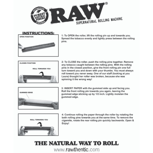 "RAW 12"" Supernatural Roller"