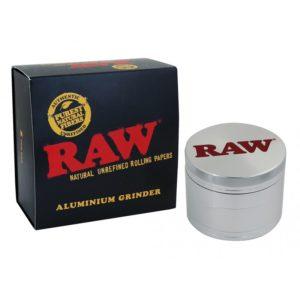 RAW 4 Piece Aluminium Grinder