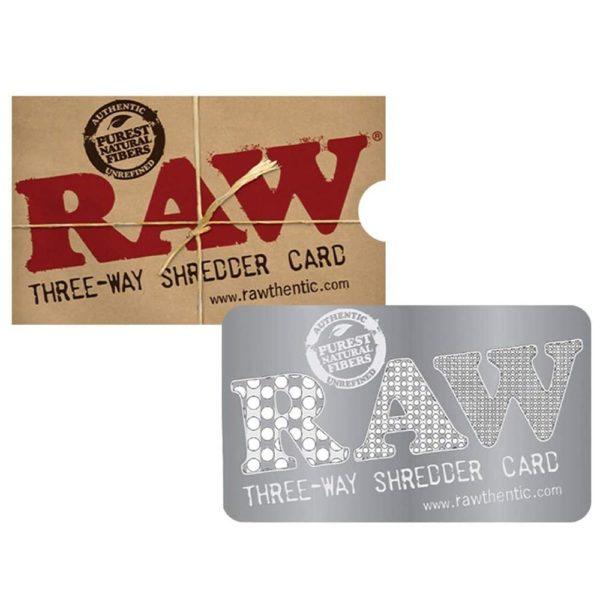 RAW Shredder Card