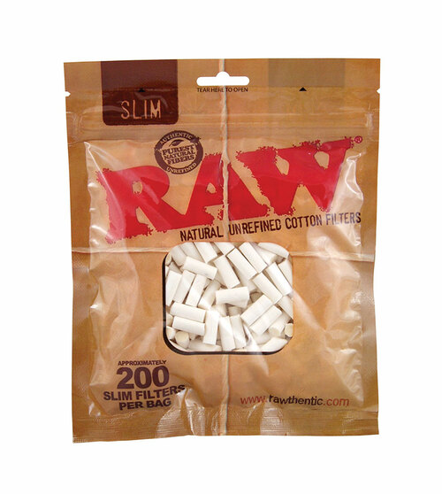 RAW Pure Cotton Filters – Slim