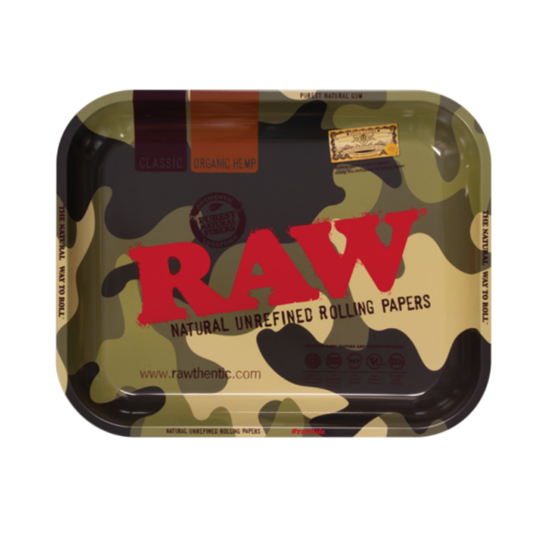 RAW Camouflage Rolling Tray