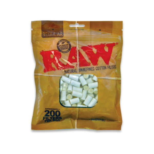 RAW Pure Cotton Filters – Regular