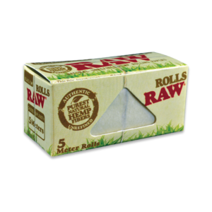 RAW Organic Hemp Rolls – 5 Meter Roll