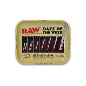 RAW Daze Of The Week Rolling Tray