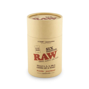 Raw Six Shooter – 1 ¼