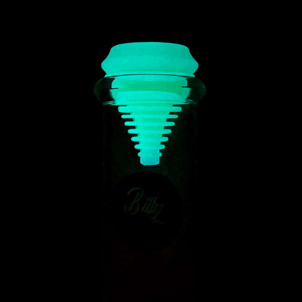 Billy Mate Silicone Mouthpiece Kit – Glow in the Dark