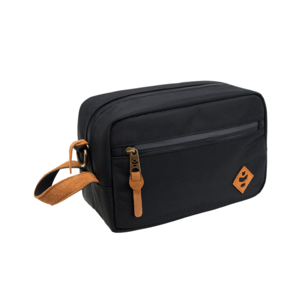 Revelry Stowaway Toiletry Smell Proof Bag - Black