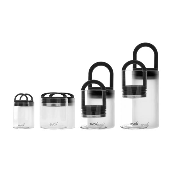 Evak Glass Storage Containers