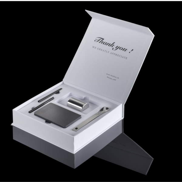 OneGee - Set Secure Snuff Box Slim Anthracite