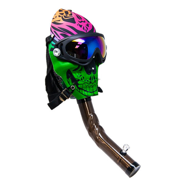 Colourful Gas Mask Water Pipe
