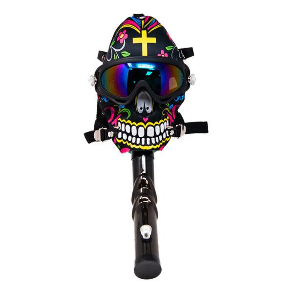 Calavera Gas Mask Water Pipe