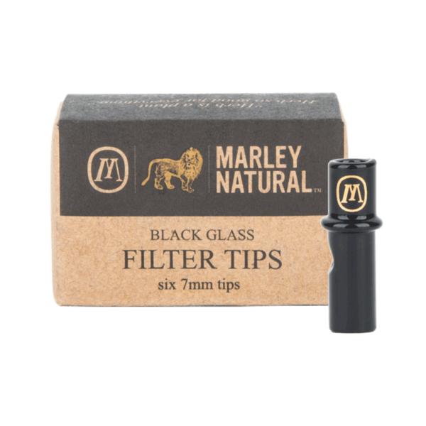 Marley Natural Glass Filters - Black – Set of 6