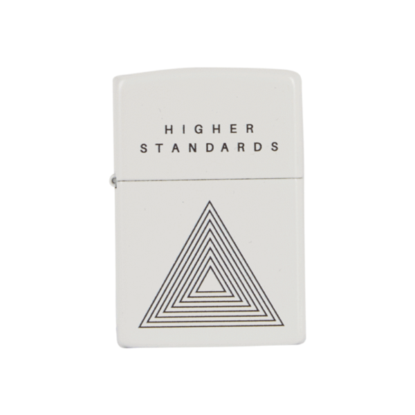 Higher Standards Zippo Lighter