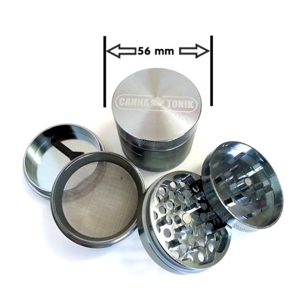 Cannatonik Anodized Aluminium Grinder - 56mm