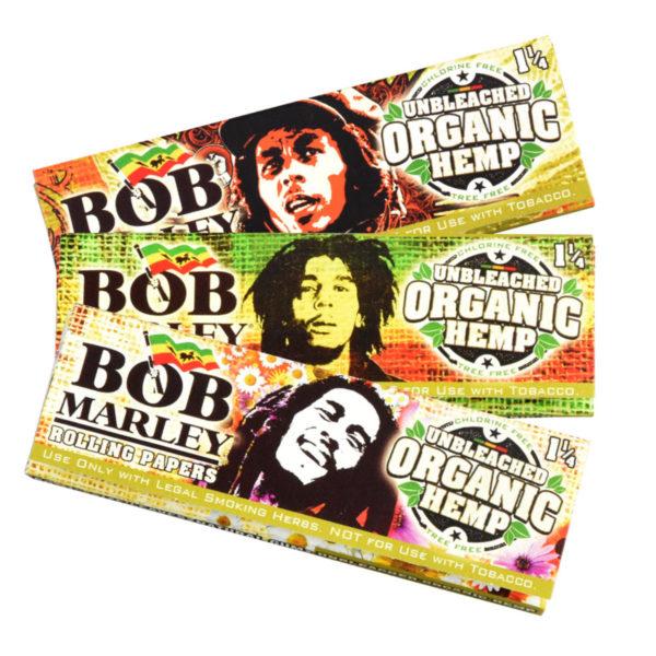 Bob Marley Organic Hemp Rolling Papers - 1 ¼