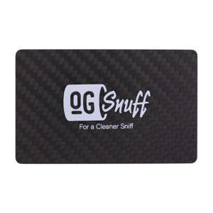 """""""OG Snuff"""" - Carbon Fibre Wallet Credit Card"""