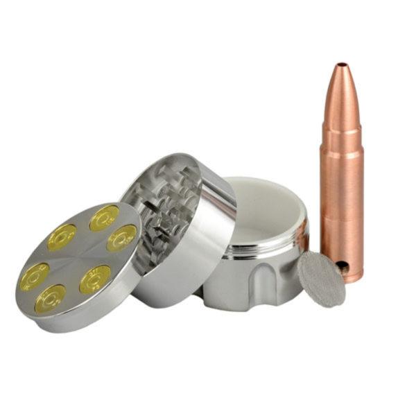 Metal Bullet Grinder & Pipe Set