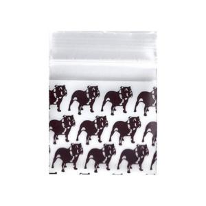 Original Apple Mini Ziplock Bags – Bulldog Bag (38mm x 38mm) x100