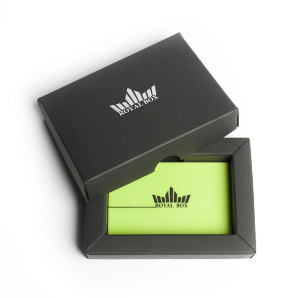 Royal Box – Green Acrylic