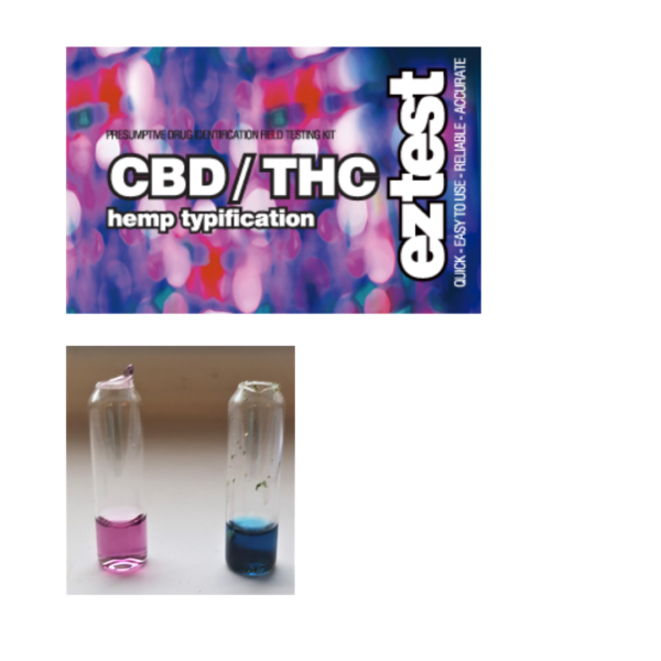 EZ Test Tube for CBD / THC - Hemp Typification