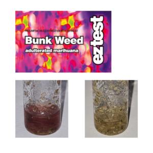 EZ Test Tube for Bunkweed (Marijuana/ Hashish)