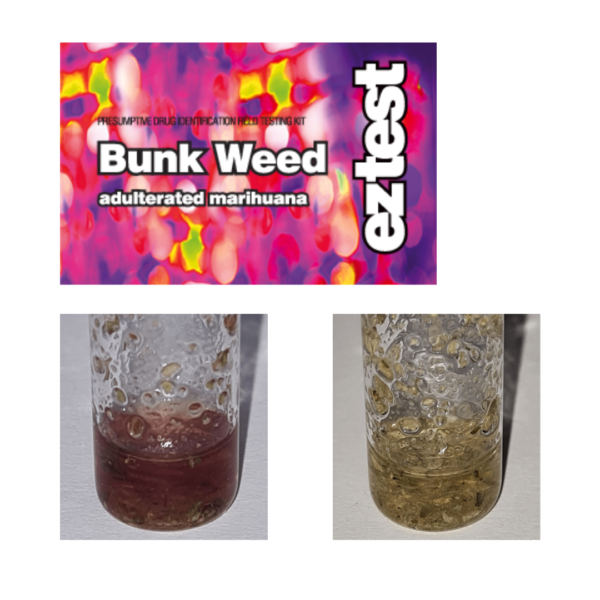 EZ Test Tube for Bunkweed (Marijuana/ Hashish)