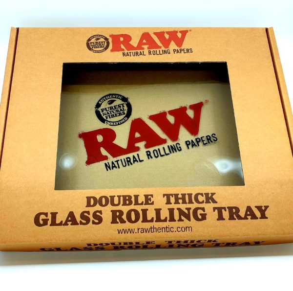 RAW Glass Rolling Tray - Large