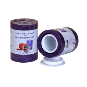 Candle Safe Security Secret Stash Container