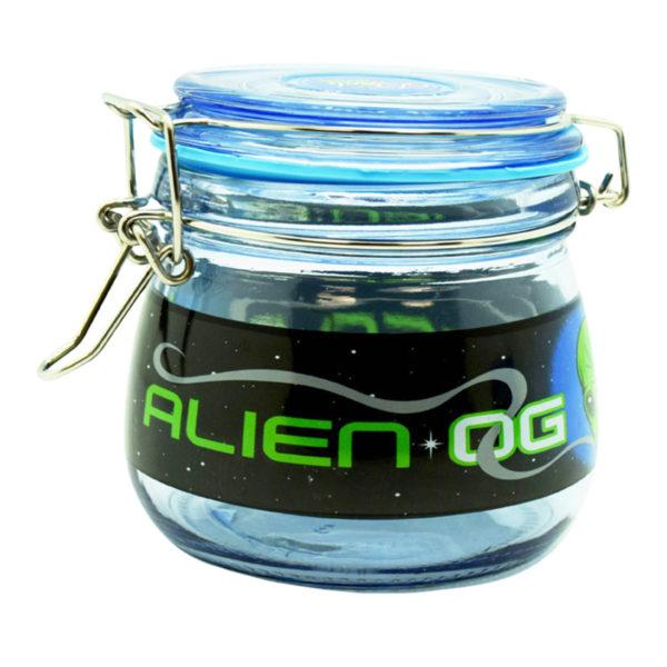 Dank Tank Airtight Glass Storage Jar – Alien OG