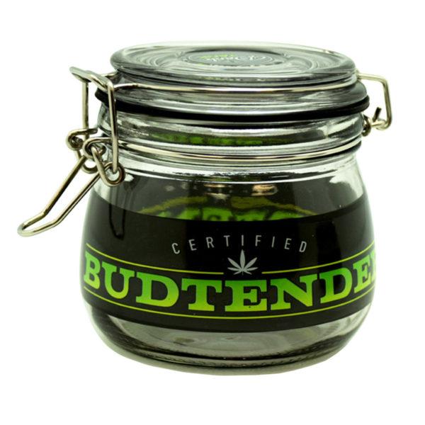 Dank Tank Airtight Glass Storage Jar - Budtender