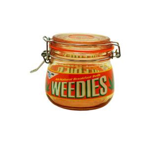 Dank Tank Airtight Glass Storage Jar - Weedies