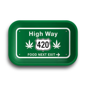 High Way 420 Rolling Tray