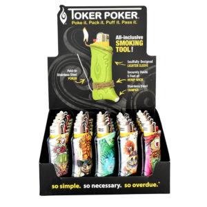 Toker Poker Lighter Sleeve - Alice & Wonderland Collection