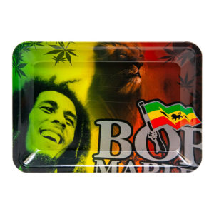 Bob Marley Lion Small Rolling Tray