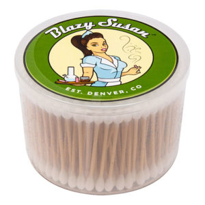 Blazy Susan White Cotton Buds – 300 Buds