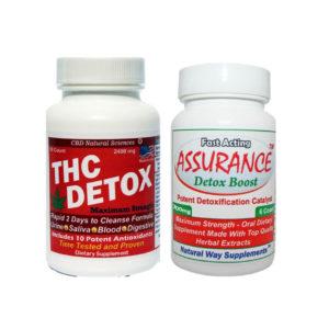 THC Detox Capsules plus Assurance Detox Boost