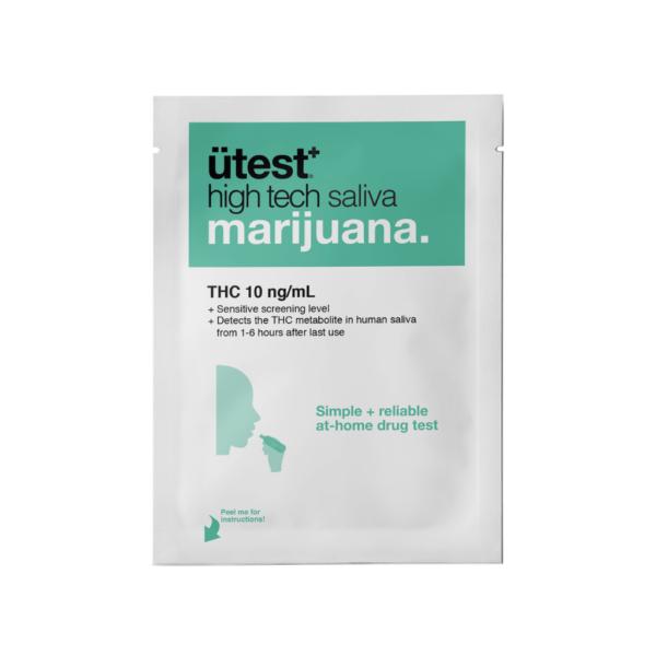 ütest Saliva – Marijuana – 10ng/mL
