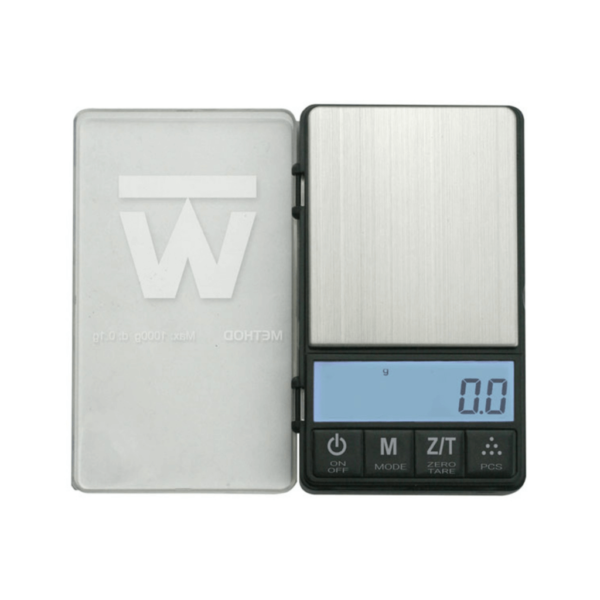 Truweigh Crimson Collapsible Bowl Scale - 1000g (0.1g)