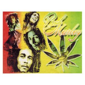 Bob Marley Rasta Leaf Flag