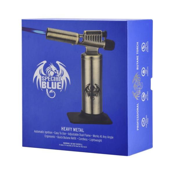 "Special Blue Heavy Metal Butane Torch - 6.5""/16.5cm"