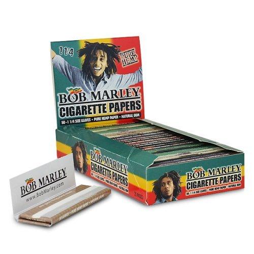 Bob Marley Pure Hemp Rolling Papers – 1 ¼