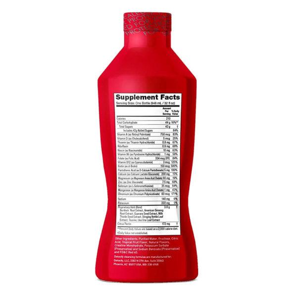 Detoxify Mega Clean Herbal Cleanse 32oz Detox Drink – Tropical Flavour