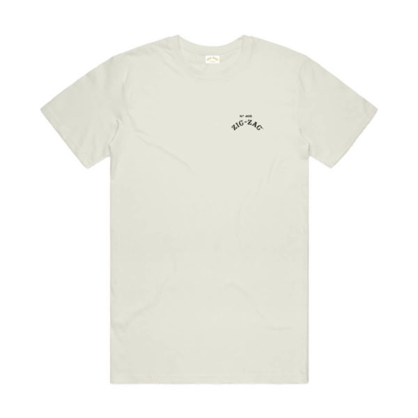 Zig Zag Organic Hemp Logo Cotton Blend T-Shirt